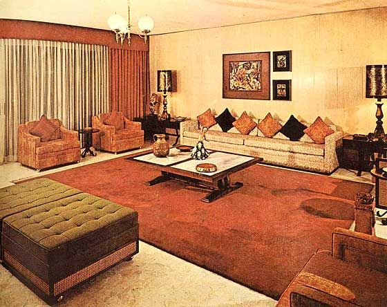 Super 70s living room   70s home decor, Vintage living ...