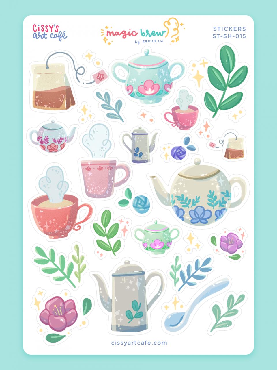 Art Sticker Sheet