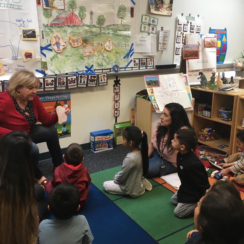 Teachers Practicing Narrative Input In