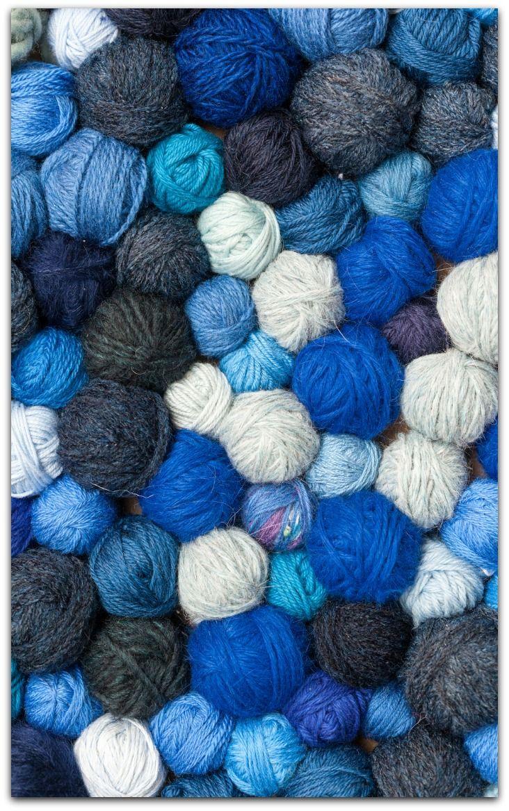 Blueballs Knitting Room Yarn Colors Easy Crochet Hat