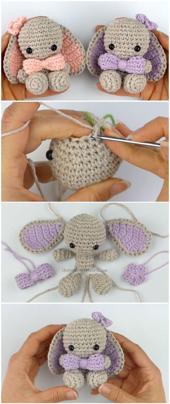 Photo of Crochet Easy Bunny Amigurumi