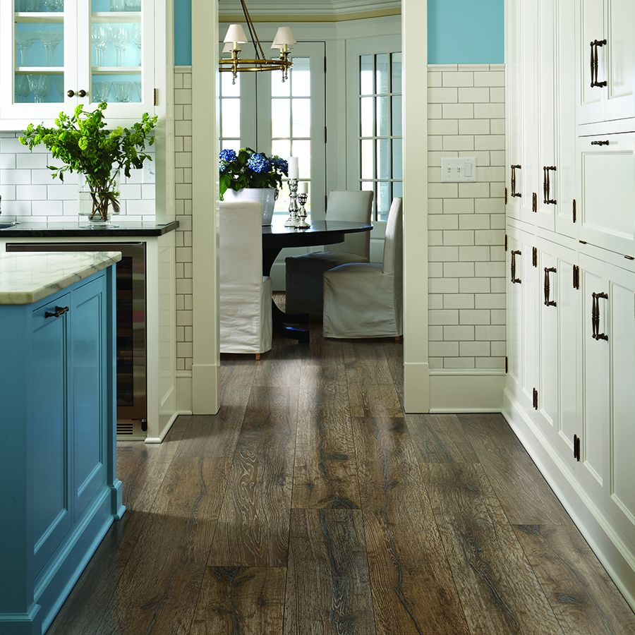 Laminate Wood Instead Of Tile Would Keep The Clacking