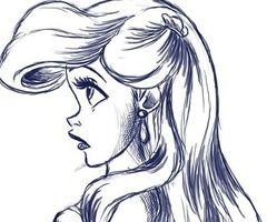 Ariel Drawings Tumblr | www.pixshark.com - Images ...