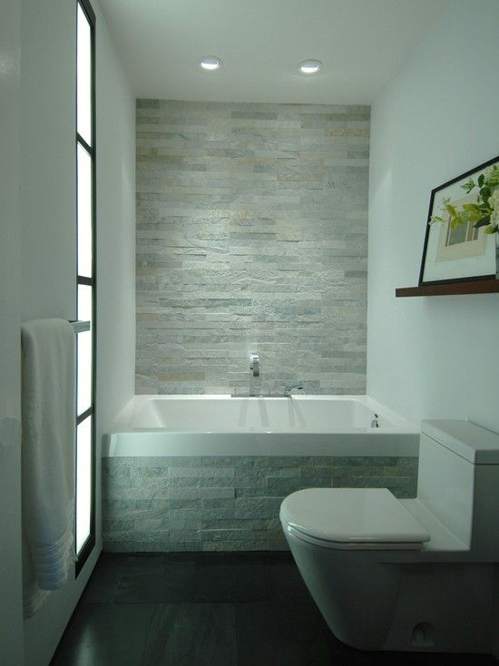 18 Functional Ideas For Decorating Small Bathroom In A Best Possible Way Stone Cladding