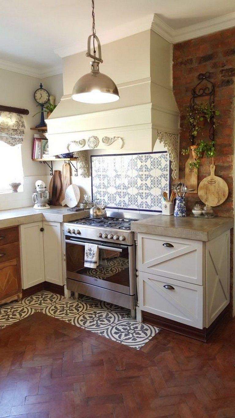 49 amazing farmhouse kitchen design ideas with