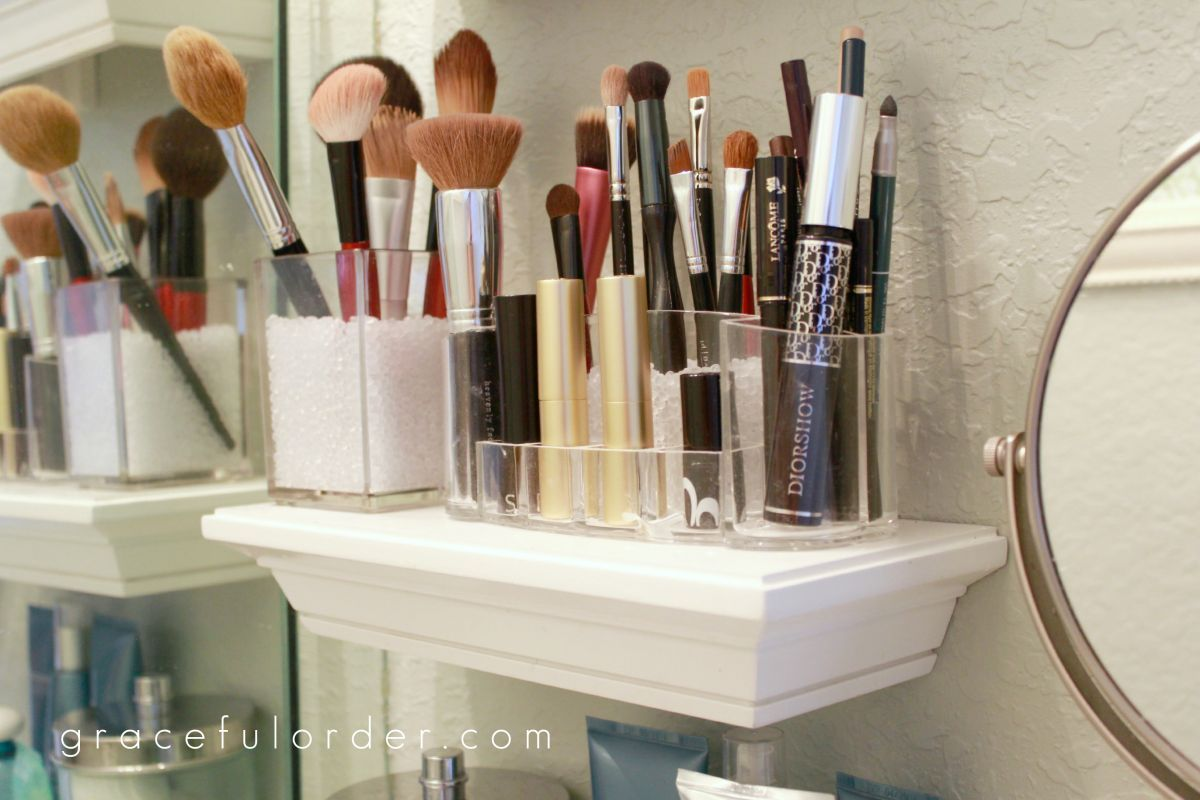 39 Makeup Storage Ideas That Will Have Both The Bathroom And