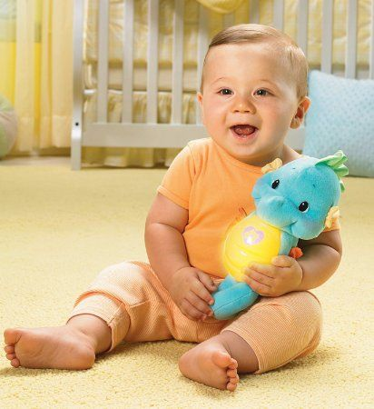Amazon Com Fisher Price Ocean Wonders Soothe And Glow Seahorse