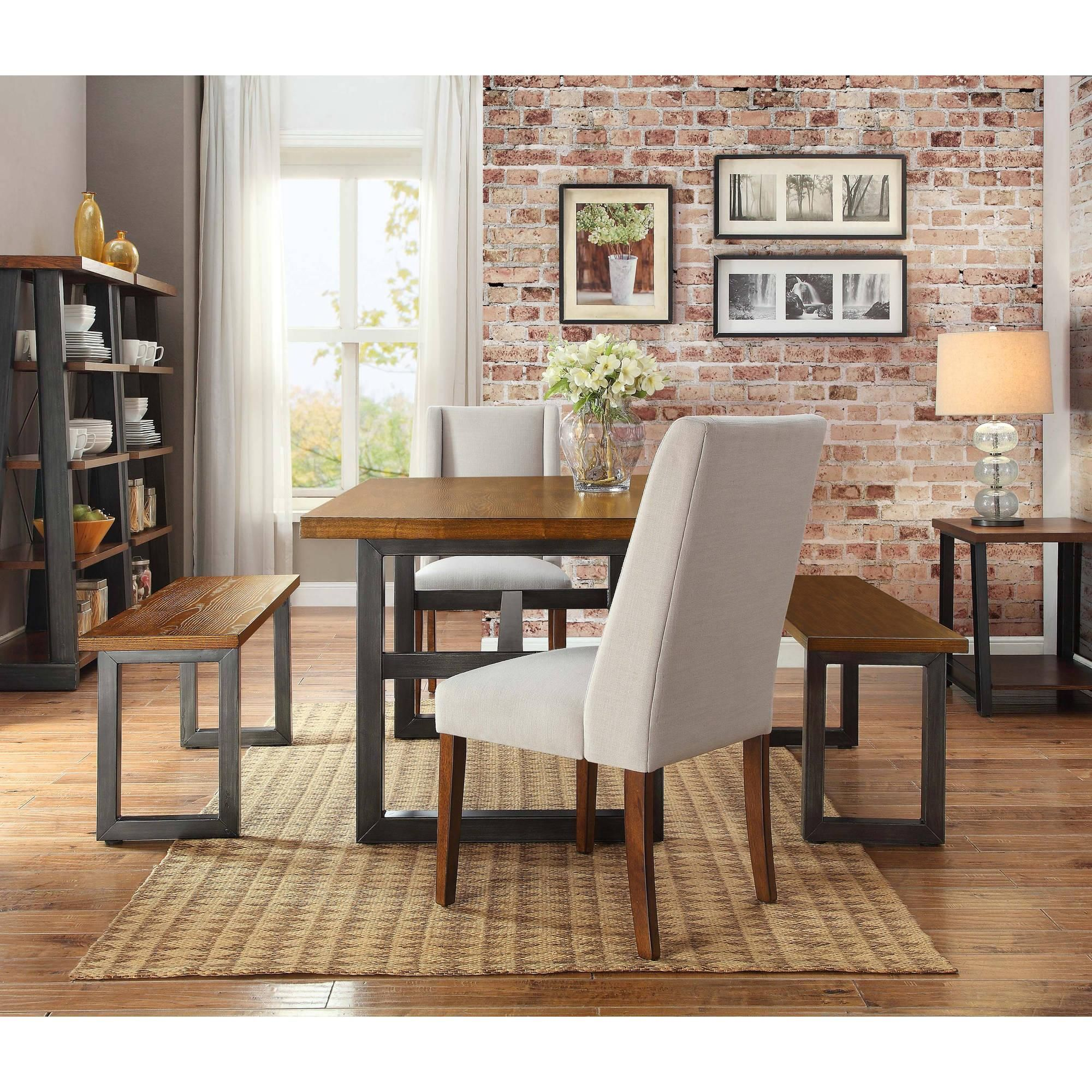 Better Homes And Gardens Mercer Dining Table  Walmart Classy Dining Room Tables Walmart Inspiration