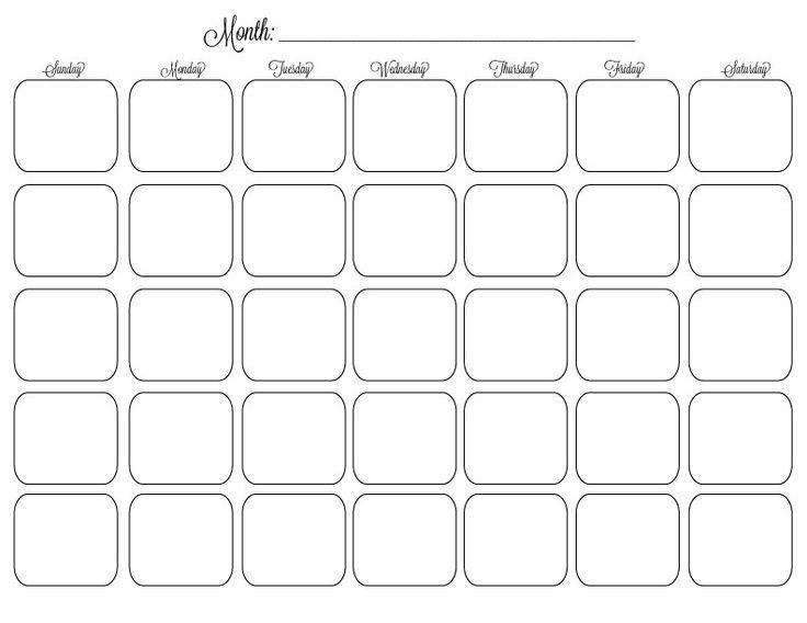 Free+Organizational+Printables printables Pinterest Planners - Perpetual Calendar Template