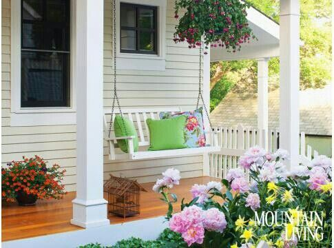 love the swing porch swing outdoor remodel rustic on porch swing ideas inspiration id=53693