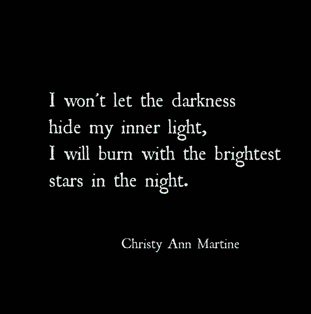 Light And Darknes Quote Dark Past Moon Star Quotes Shining Out Of Paraphrase