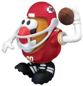 sports shoes af962 c7a9e Amazon.com: NFL Kansas City Chiefs Mr. Potato Head: Sports ...