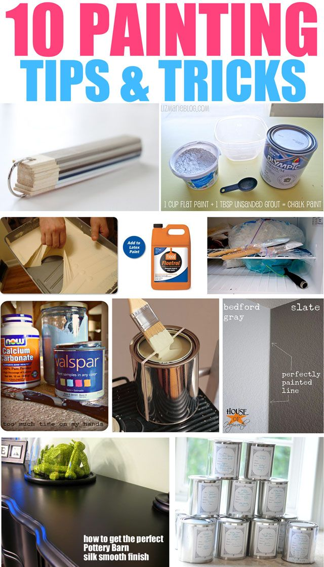 10 Painting Tips Tricks Home Improvement Diy Home Decor Painting Tips Home Repairs