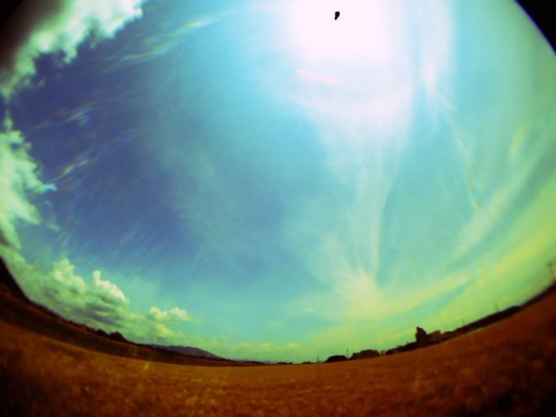 Gizmon iCA lens fish eye / Vivitar ViviCam 5050 - 麦畑 - Camera Talk -