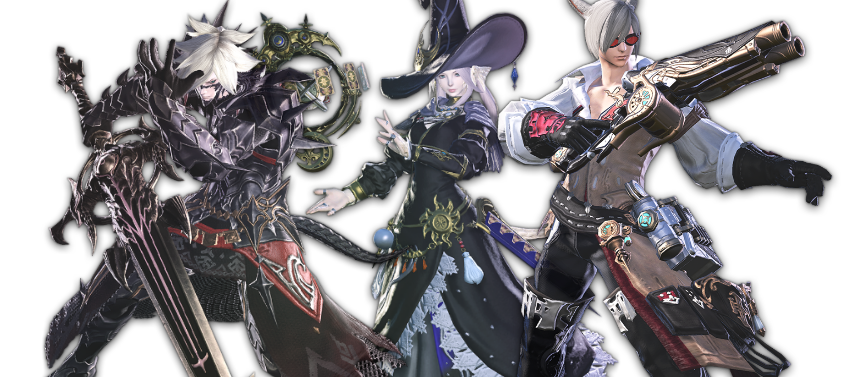 ffxiv heavensward jobs - Dark Knight, Astrologian and Machinist