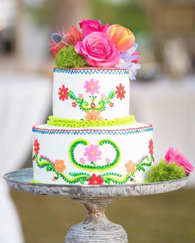 Fiesta Fresh Fls Wedding Cake Inspiration From Cakes 2 Dy 4 In Corpus Christi Tx
