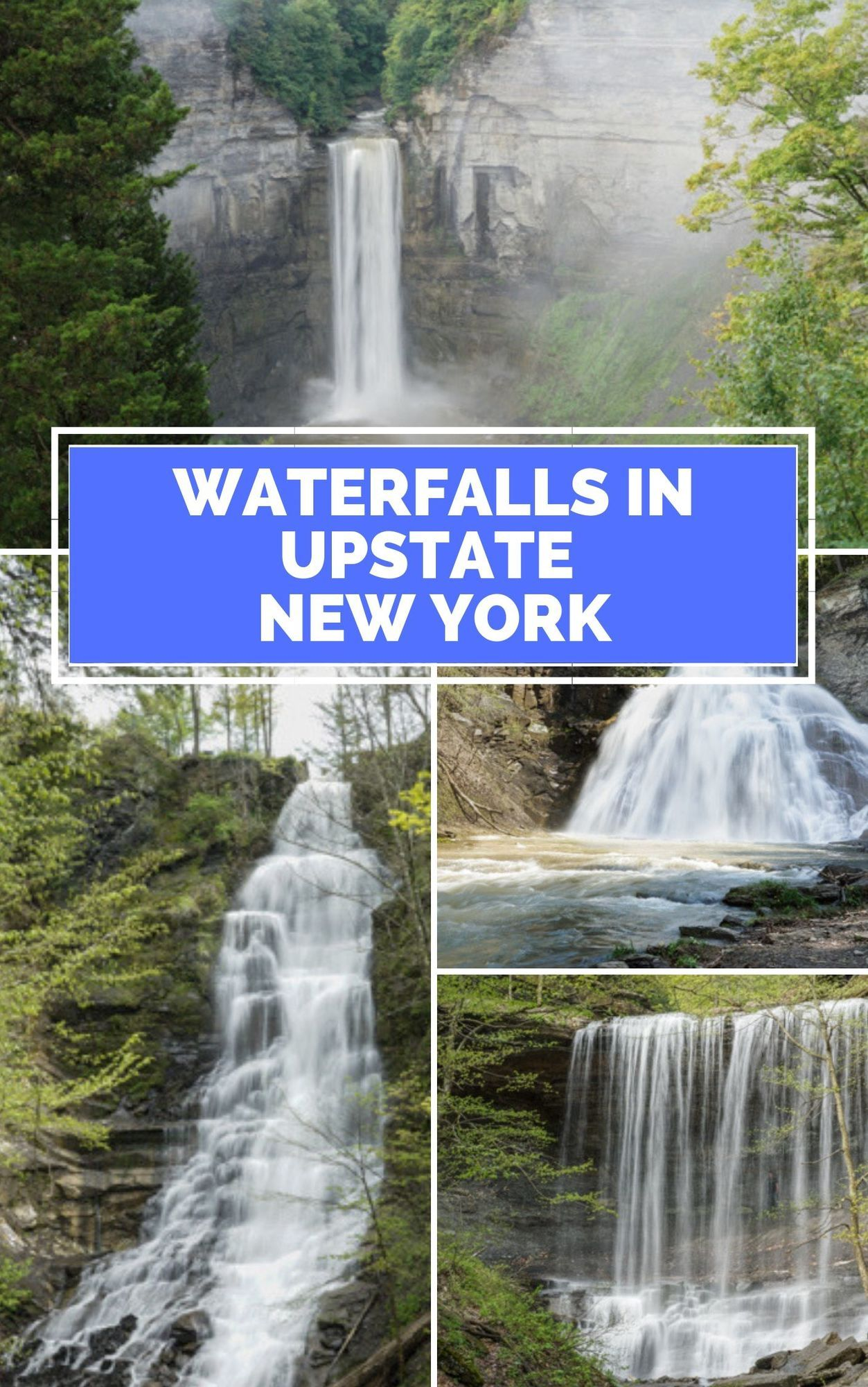 10 Awesome New York Waterfalls to Check Out That Aren't Niagara Falls #autumninnewyork
