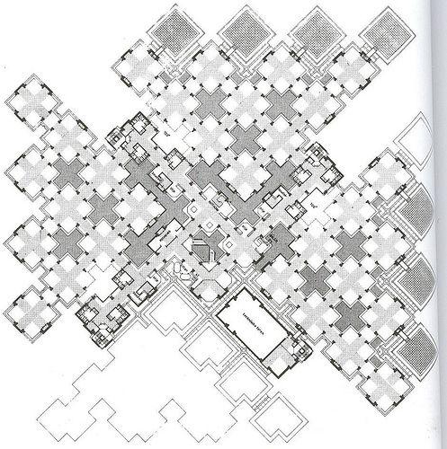 Centraal Beheer Office Building W Lucas Niemeijer Apeldoorn Netherlands 1968 72 Grid Architecture Module Architecture Architecture Presentation