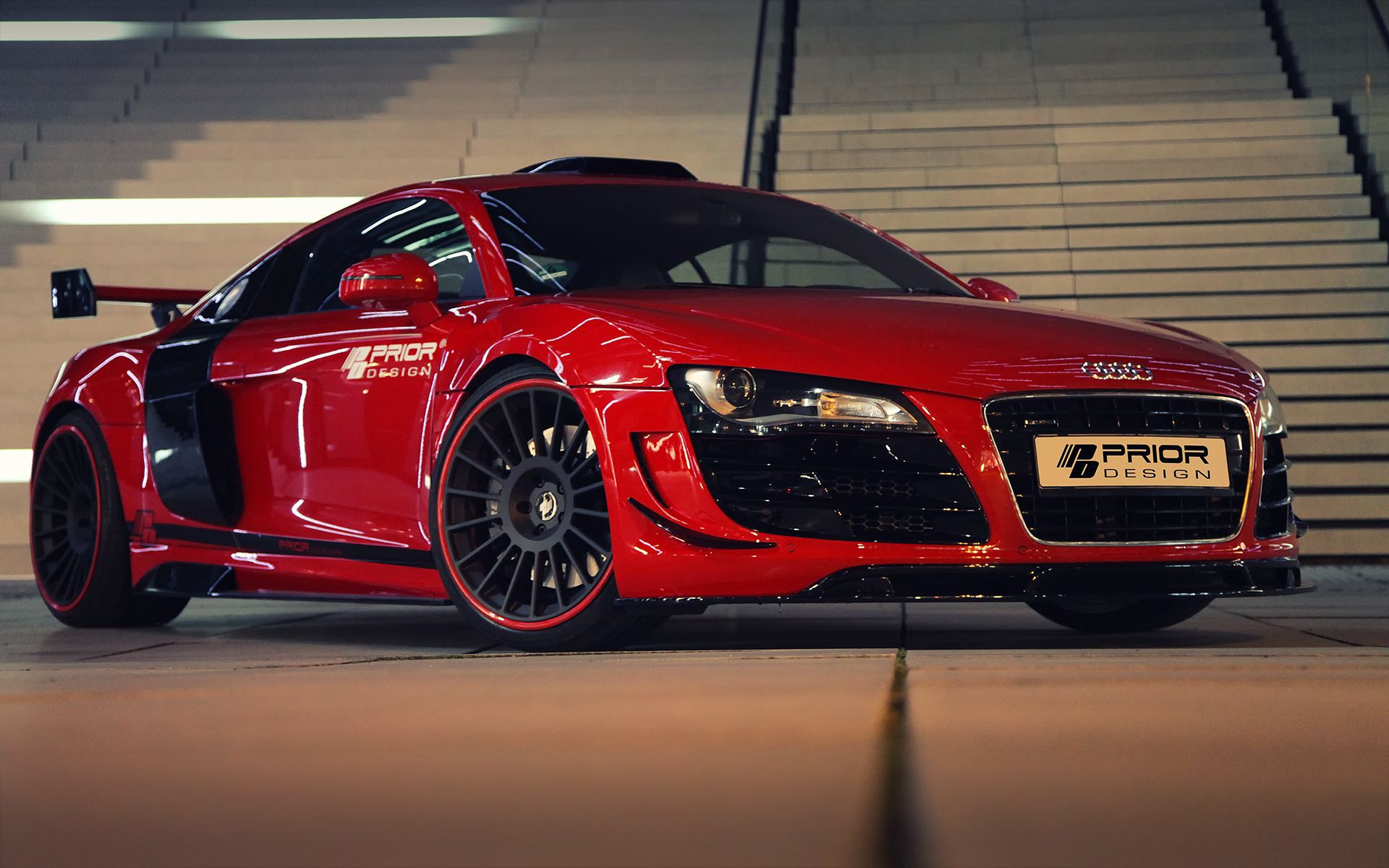 red audi r8 wallpaper - http://whatstrending/red-audi-r8