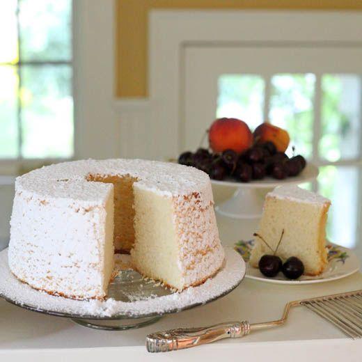 Almond Chiffon Cake I need to make this!