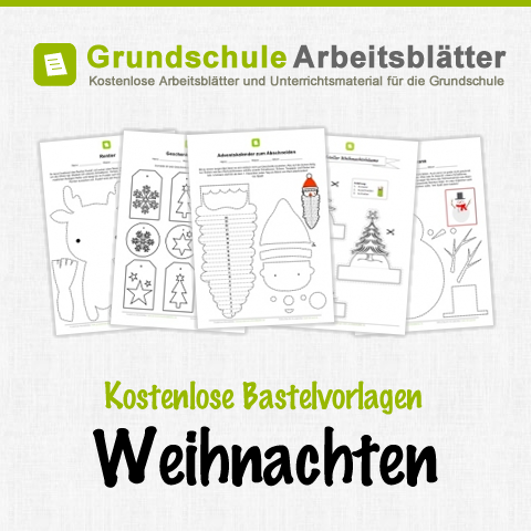 kostenlose bastelvorlagen zum thema weihnachten f r kinder. Black Bedroom Furniture Sets. Home Design Ideas