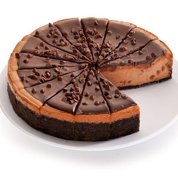 더블 초코칩 치즈케이크