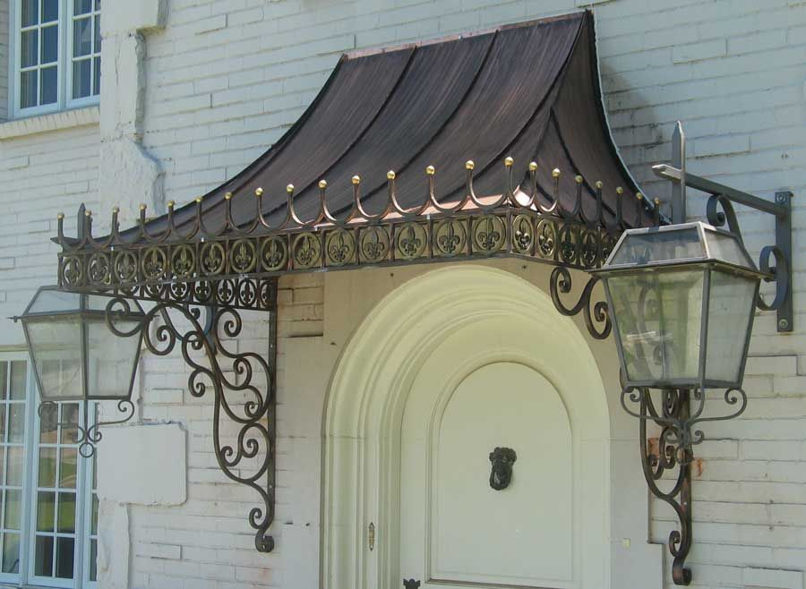 Old World Copper Works of Dallas Awning (With images ...