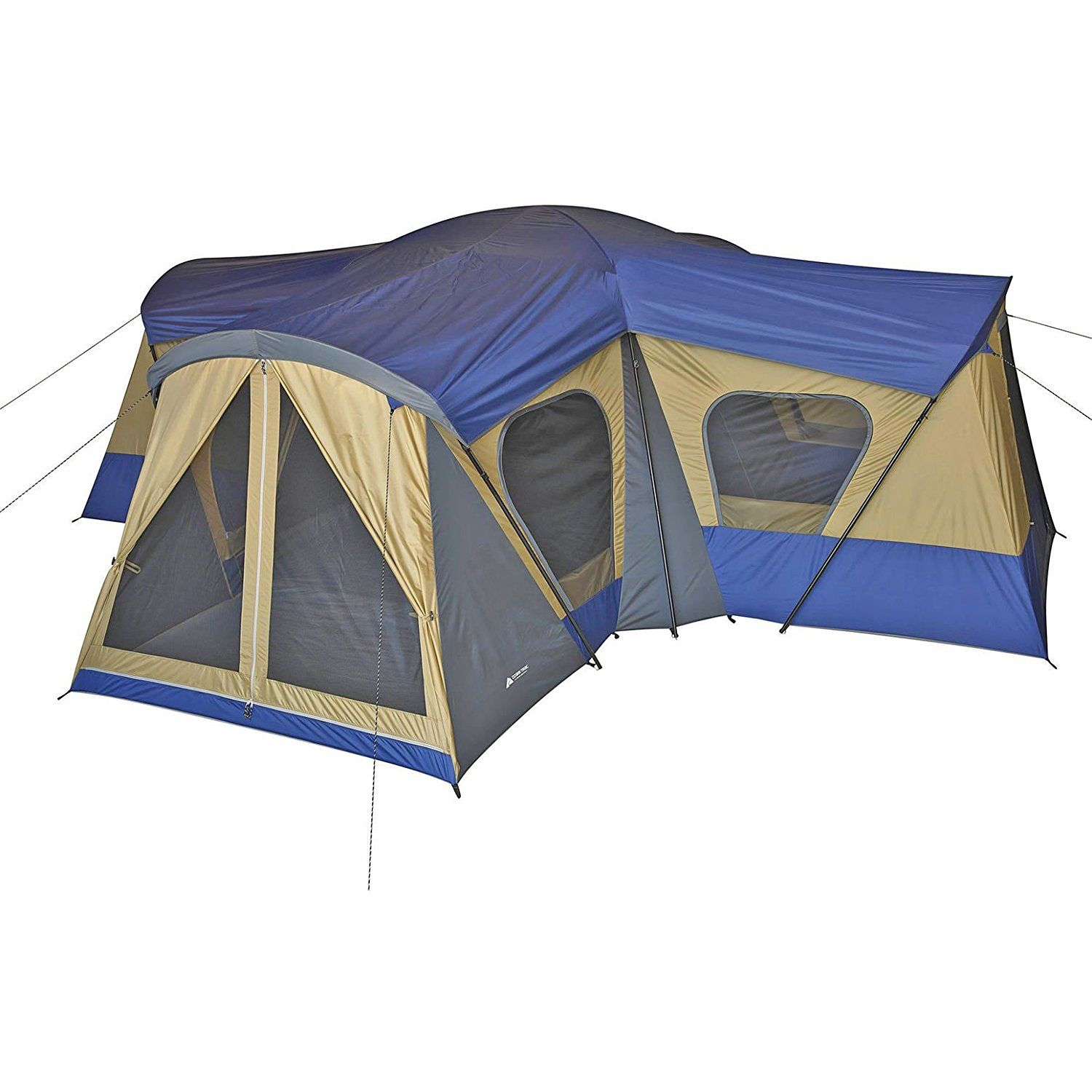 Family Cabin Tent 14 Person Base C& 4 Rooms Hiking C&ing Shelter Outdoor u003eu003e Details can be found  Hiking tents  sc 1 st  Pinterest & Ozark Trail Base Camp 14-Person Cabin Tent -- This is an Amazon ...