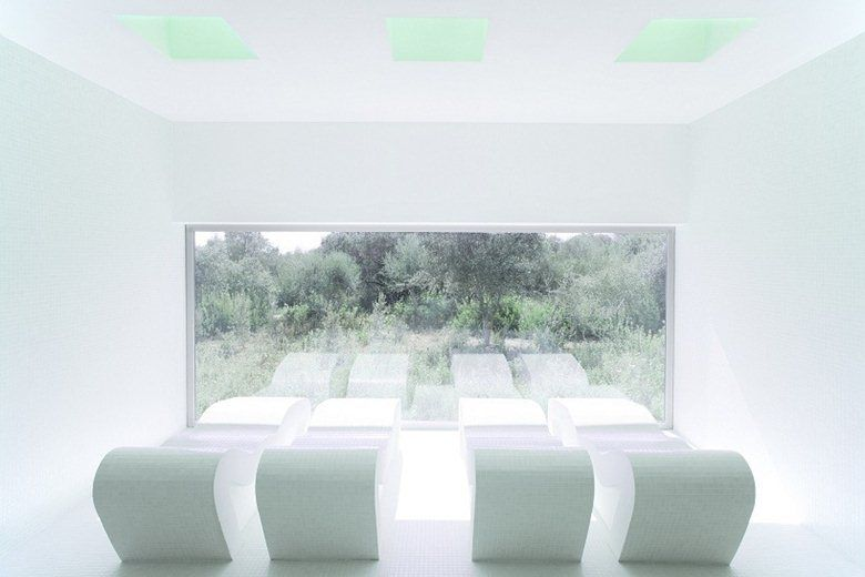 Spa for an Hotel in Mallorca, Manacor, 2012 - A2arquitectos