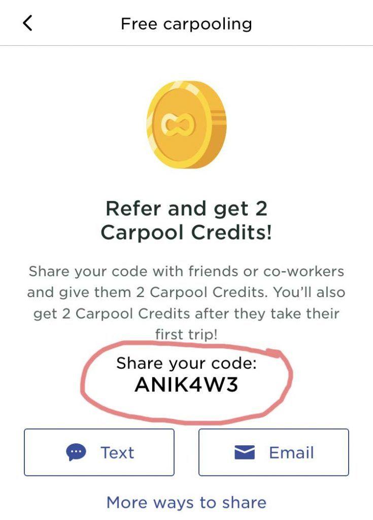 Scoop Rideshare Free Ride Promo Code 'ANIK4W3' Coding