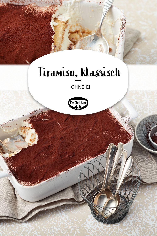 Tiramisu, klassisch