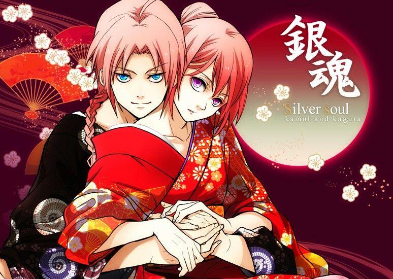 Yato family...Kagura,Kamui...