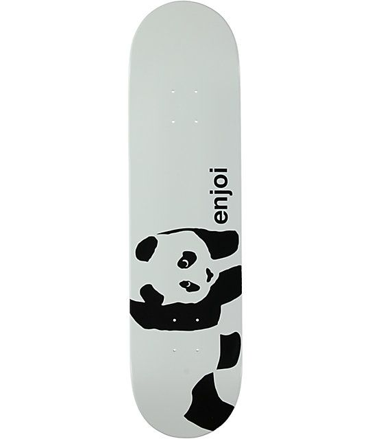 Get down with the best panda in the skate game on the Enjoi Whitey Panda 8. 9a23ab550d1