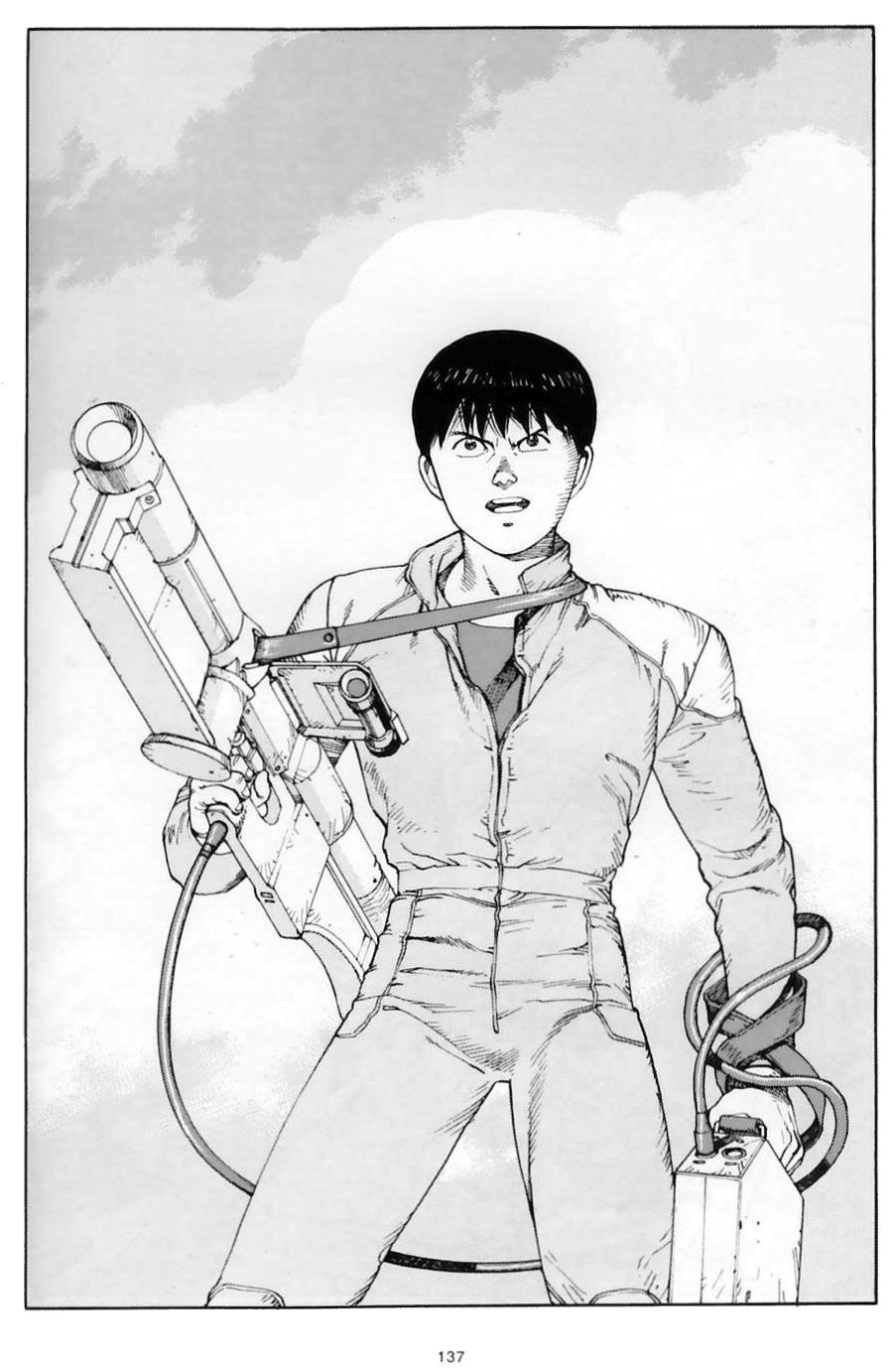 Kaneda And The Laser Cannon Akira Manga Akira Anime Akira Kaneda