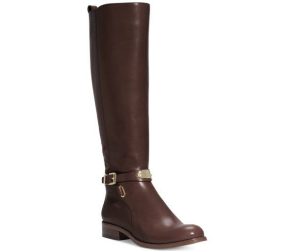 Michael Kors Knee High Brown Boots Women's US Size 8 #MichaelKors #FashionKneeHigh