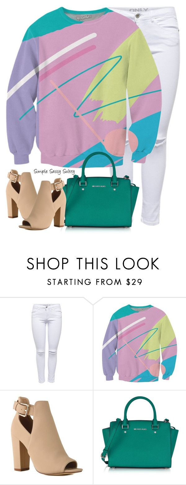 """Resurgence"" by simplesassysultry ❤ liked on Polyvore featuring Michael Kors"