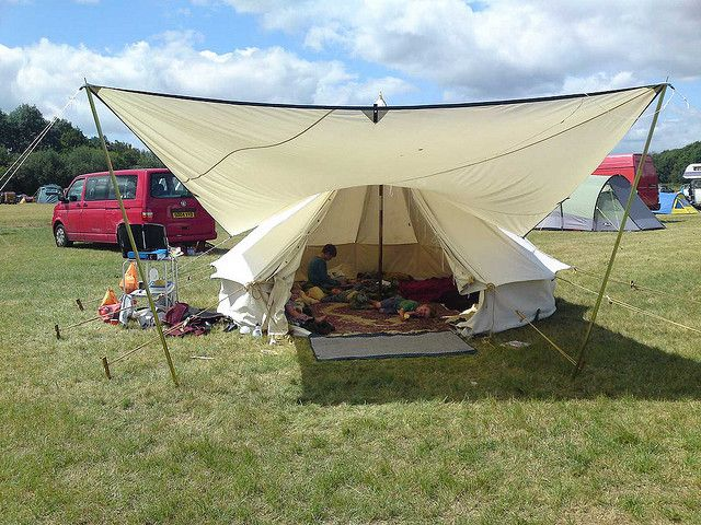 bell tent tipi awning