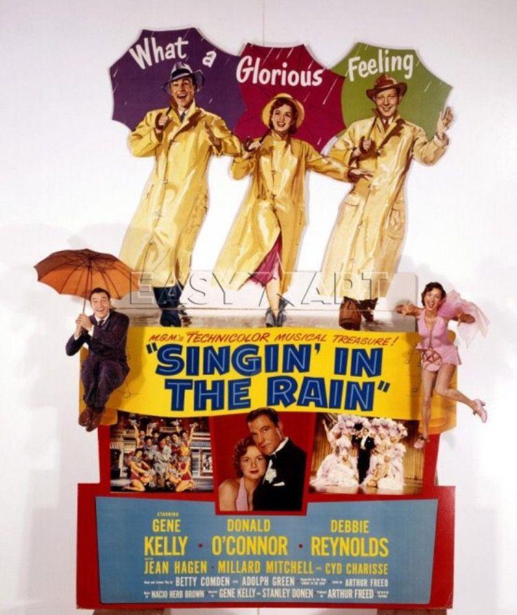 Singin In The Rain 1952 Imdb 雨に唄えば ポスター 映画