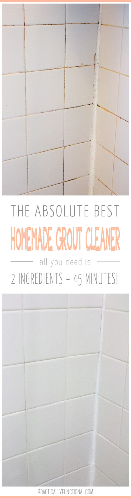 How To Clean Grout With A Homemade Grout Cleaner With Images Grout Cleaner Homemade Grout Cleaner Clean Tile Grout