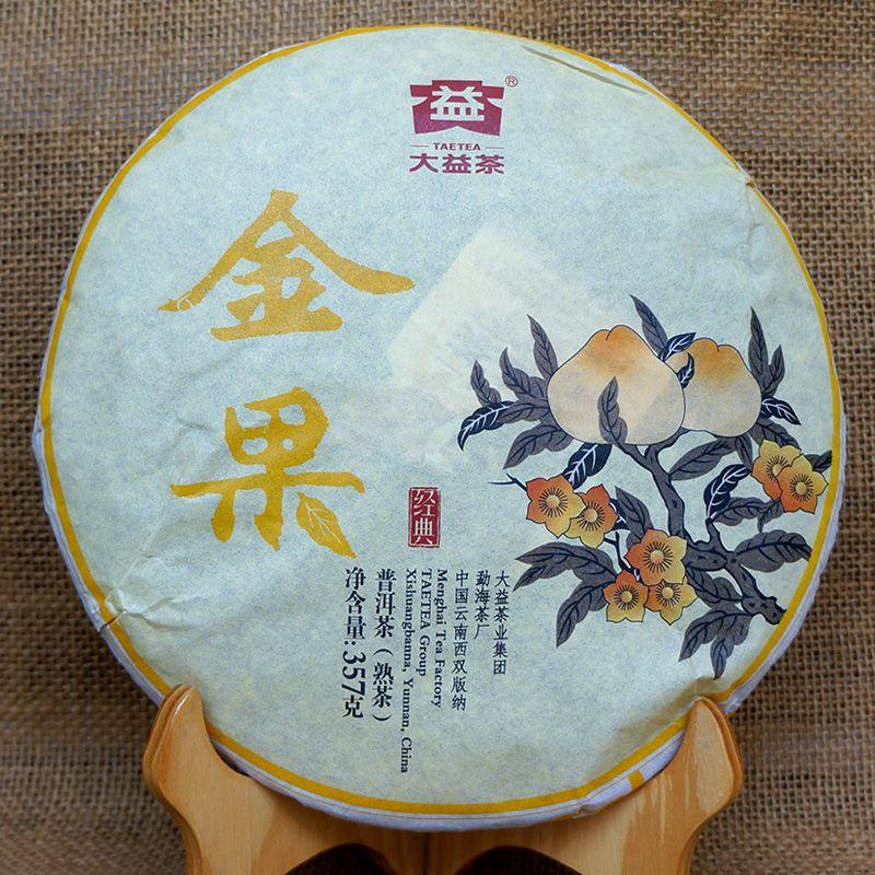 $29.99 (Buy here: https://alitems.com/g/1e8d114494ebda23ff8b16525dc3e8/?i=5&ulp=https%3A%2F%2Fwww.aliexpress.com%2Fitem%2FGRANDNESS-Golden-Fruit-2016-1601-menghai-tea-factory-TAETEA-Puerh-High-Quality-Dayi-Shu-menghai%2F32678758663.html ) [GRANDNESS] Golden Fruit * 2016 1601 menghai tea factory TAETEA Puerh High Quality Dayi Shu menghai dayi ripe Puer Tea 357g for just $29.99