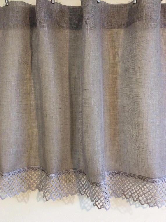 Stunning tende di lino per cucina gallery ideas design for Tende ikea lino