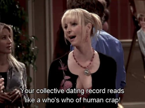 Your collective dating record