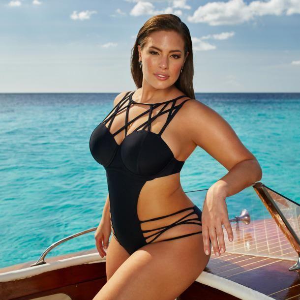 bcc5453304edb Sexy Badeanzug mit Cutouts Kurvige Frauen, Badeanzug, Bademode, Bekleidung,  Schöne Frauen,