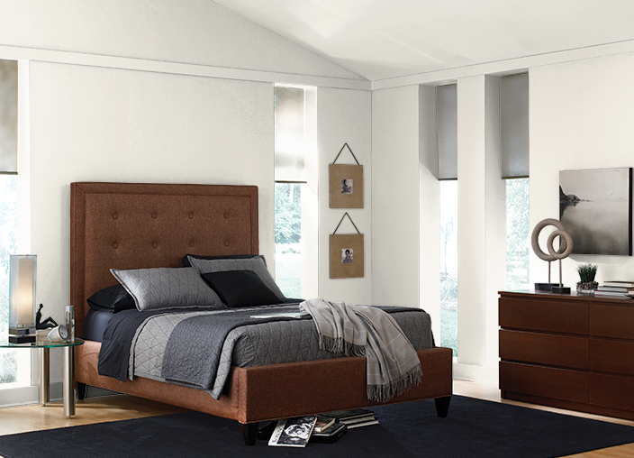 This is the project I created on Behr.com. I used these colors: SWISS COFFEE(1812),