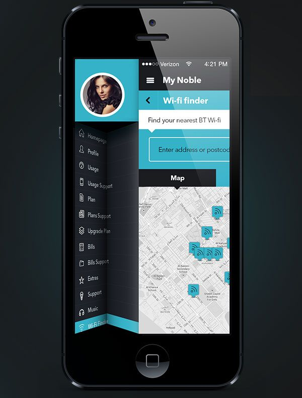 Mobile App Design Inspiration – Noble | App design inspiration ...