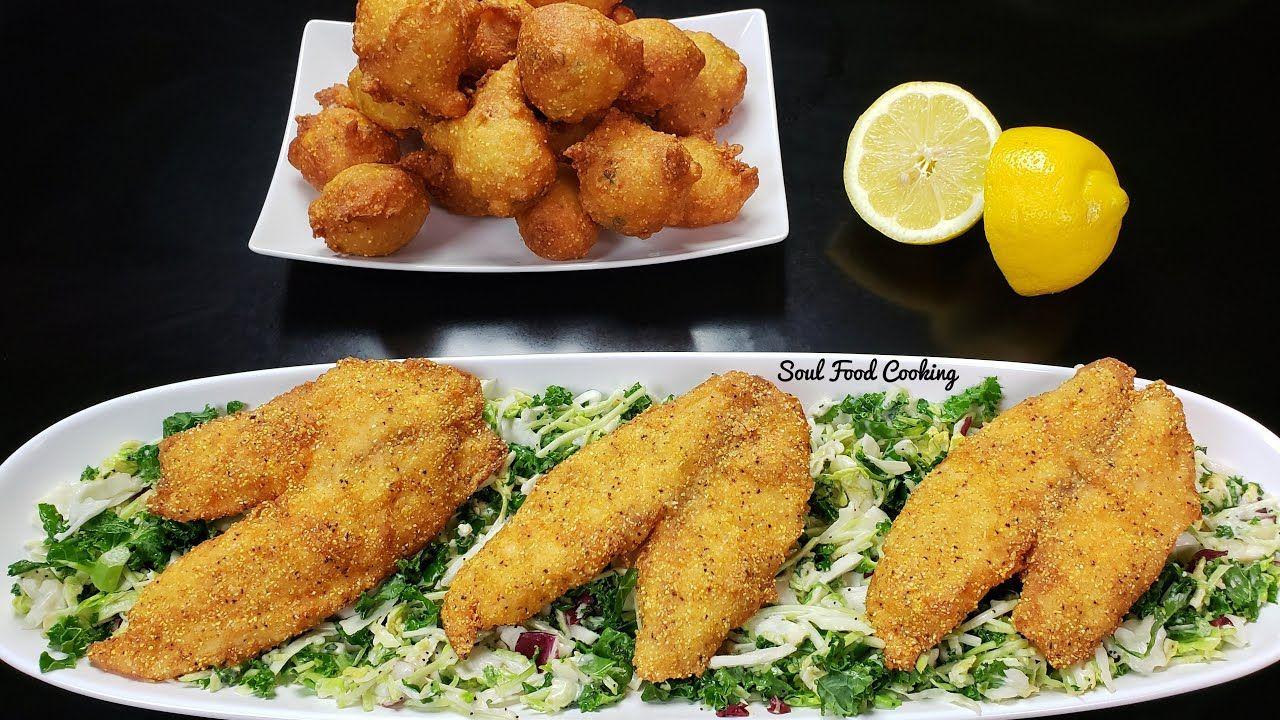 Fried Fish and Hush Puppies Recipe SoulFoodSunday