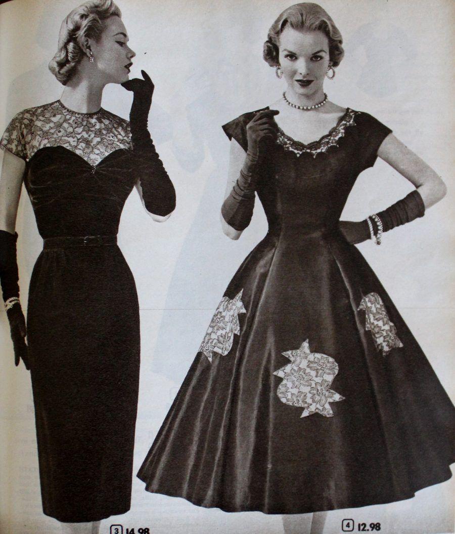 Vintage Gloves History 1900 1910 1920 1930 1940 1950 1960 Cocktail Dress Vintage 1950s Cocktail Dress Dress Gloves [ 1055 x 900 Pixel ]