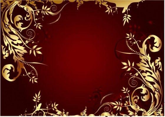 Color Dark Red Frame Decor Red Christmas Background Dark Red Background