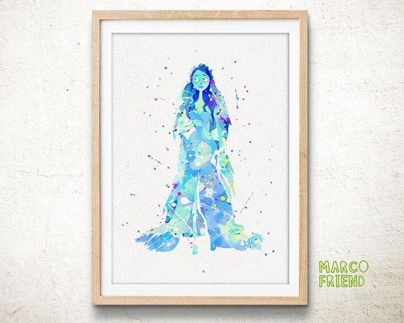 #wallart #poster #watercolorprint #artprint #gift