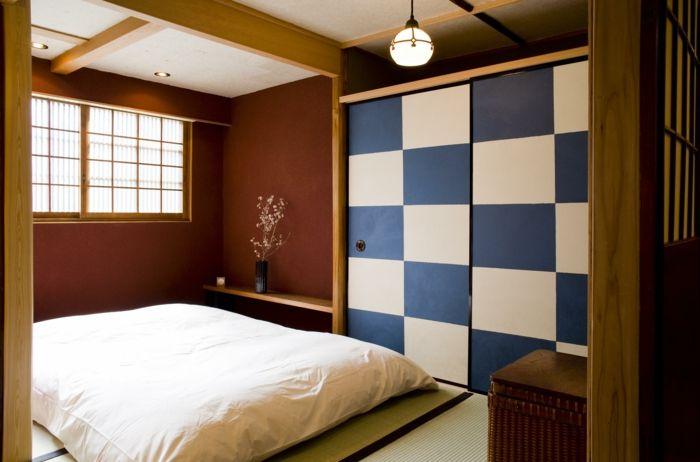 Lit Futon Pour Une Chambre A Coucher De Style Japonais Avec